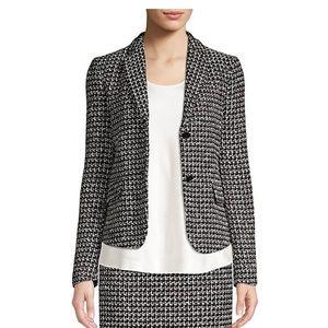 Hugo Boss Tweed black and white jacket